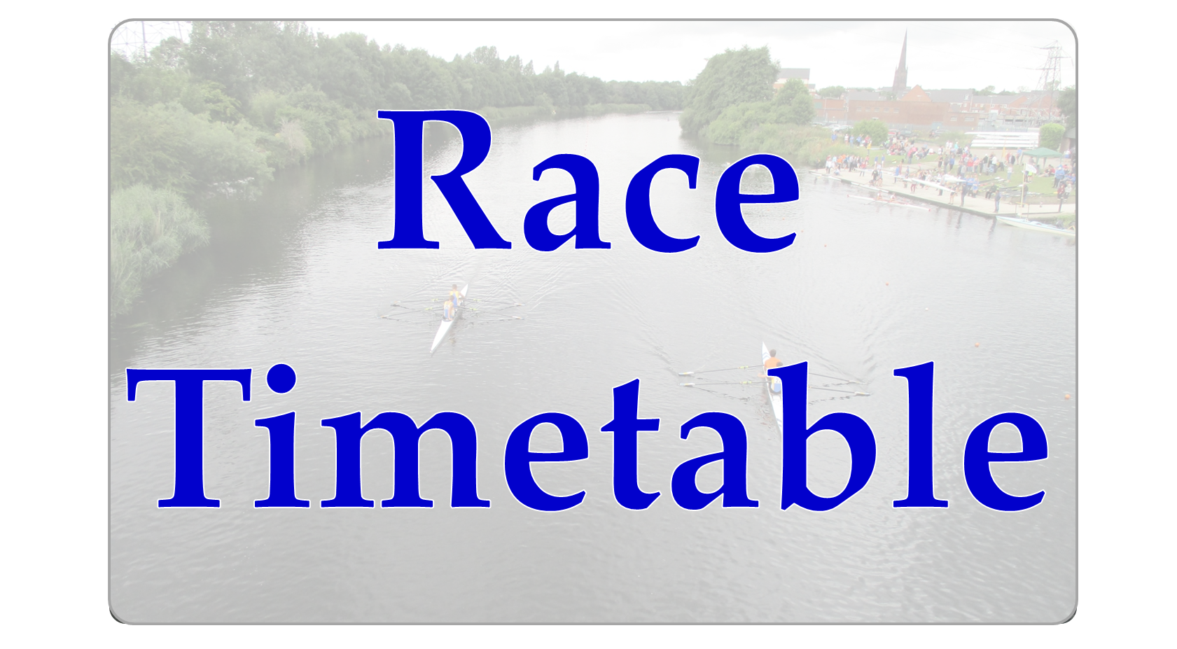 Race Timetable