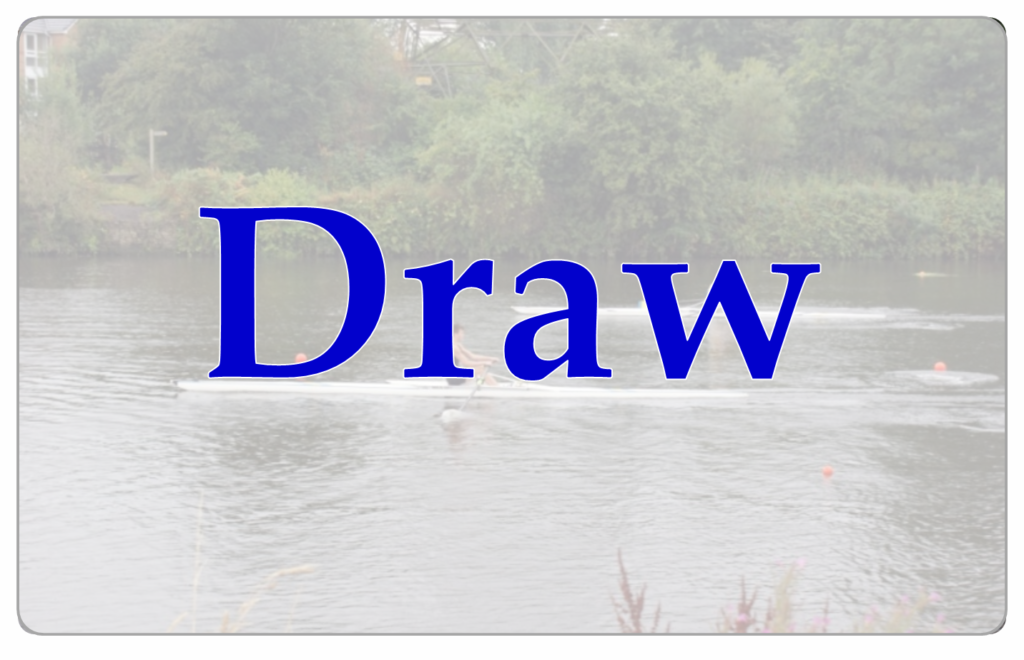 Provisional Draw