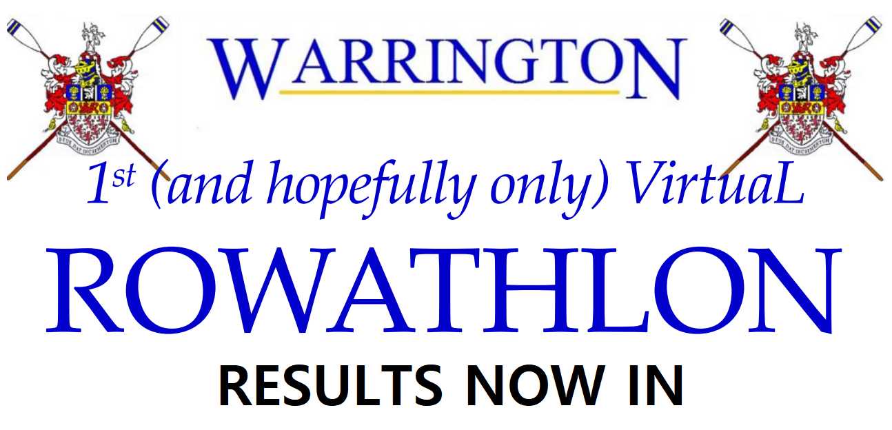 Rowathlon Results Now In